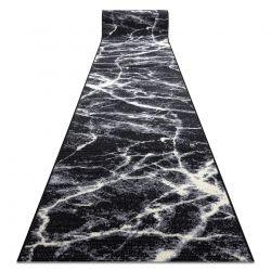 Пътеки BCF BASE Stone 3988 камък, мрамор черно