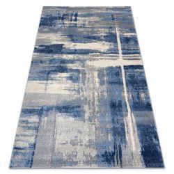 Soft szőnyeg 6105 T73 86 világos szürke / kék