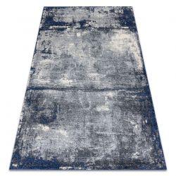 Soft szőnyeg 6151 T73 85 világos szürke / sötétkék