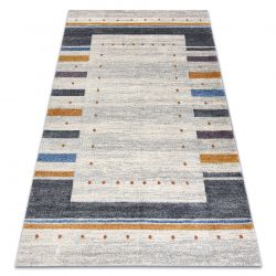 Carpet SOFT 6448 T73 18 white / light grey