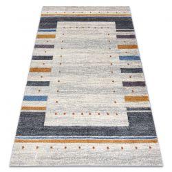 Soft szőnyeg 6448 T73 18 fehér / világos szürke