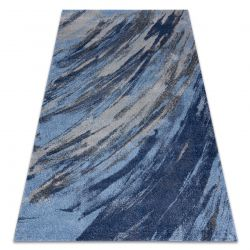Carpet SOFT 6452 T73 68 blue / light grey