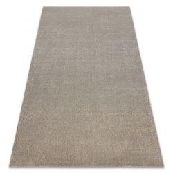 Soft szőnyeg 2485 K60 11 egyszerű egyszínű bézs