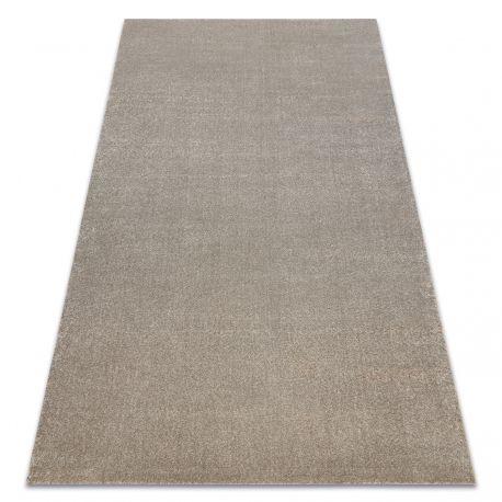 Carpet SOFT 2485 K60 11 plain, one colour beige