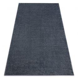 Carpet SOFT 2485 K60 55 plain, one colour dark grey