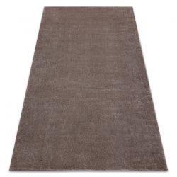 Soft szőnyeg 2485 T70 55 egyszerű egyszínű sötét bézs