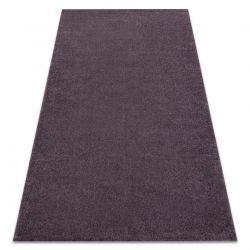 Koberec SOFT 2485 T70 77 Jednotný jednobarevný fialový
