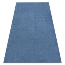 Soft szőnyeg 2485 T73 66 egyszerű egyszínű kék
