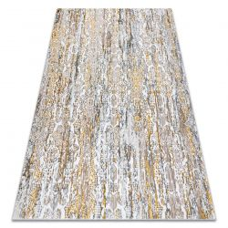 Tapis GLOSS moderne 8487 63 Ornement élégant, glamour or / beige