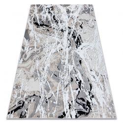 Koberec GLOSS moderni 8488 37 Abstrakce stylový, glamour béžový / šedá