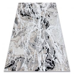 Modern GLOSS Carpet 8488 37 Abstraction stylish, glamour beige / grey
