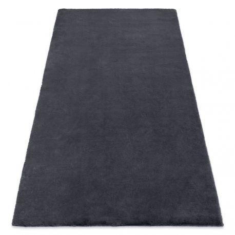 Carpet BUNNY grey IMITATION OF RABBIT FUR