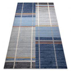 Carpet SOFT 6141 T73 85 light grey / dark blue