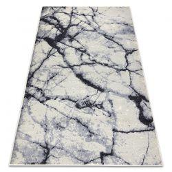 Dywan BCF BASE Stone 3988 Kamień, marmur kość słoniowa / szary
