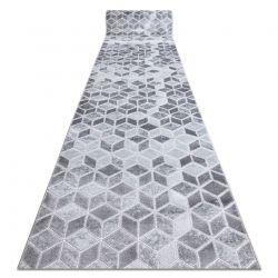 Tapis de coluoir Structural MEFE B400 deux niveaux de molleton gris