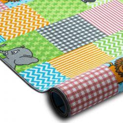 Gyerekeknek szőnyegpadló szőnyeg ZOO állatok