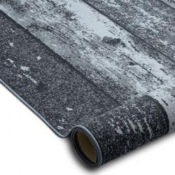 Anti-slip Fitted carpet WOOD plank grey