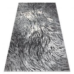 Koberec ZARA 0W3983 P50 520 - Strukturální, dvě úrovně rouna šedá / béžový