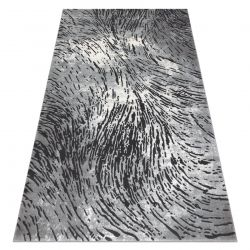 Tapis ZARA 0W3983 P50 520 - Structural deux niveaux de molleton gris / beige