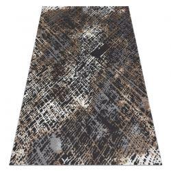 Tapis ZARA 0W3982 P50 520 - Structural deux niveaux de molleton gris / beige
