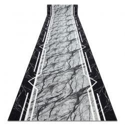 Alcatifa do corredor com reforço de borracha MARMUR Mármore, pedra cinzento