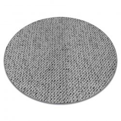 Carpet, round CASABLANCA grey