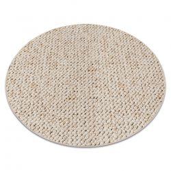 Teppich rund CASABLANCA sahne