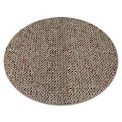 Carpet, round CASABLANCA beige