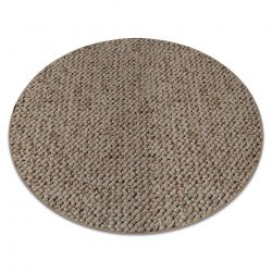 Teppich rund CASABLANCA beige