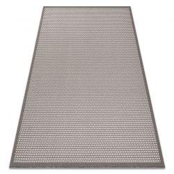 Tapete SIZAL BORDERO 2907 tecido plano taupe / creme