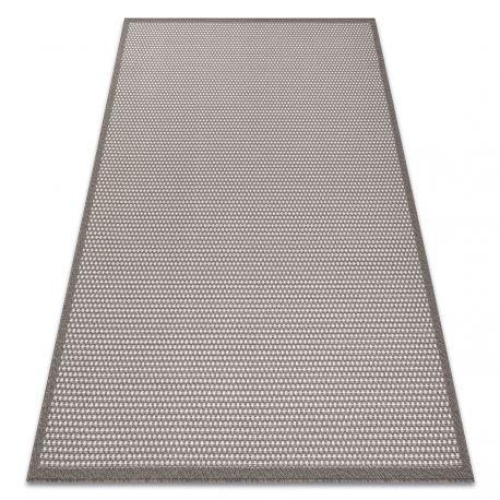 Koberec BORDERO 2907 ploché tkaní taupe / krémový