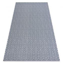 Carpet CASA, ECO SISAL Boho Diamonds 22084 navy / cream, recycled carpet