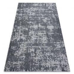 Carpet CASA, ECO SISAL Boho vintage 2809 grey / anthracite, recycled carpet