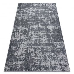 Tapis CASA ECO SIZAL BOHO vintage 2809 gris / anthracite, tapis en coton recyclé