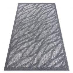 Carpet SANTO SISAL 58387 leaves trellis anthracite