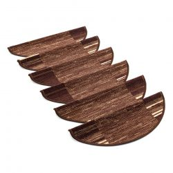 Tapis d'escalier- marchettes ADAGIO brun