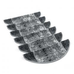 Tapis d'escalier- marchettes STARK gris