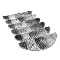 Tapetes de escada adesivos ESSENZA cinzento