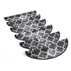 Tapetes de escada adesivos CLOVER cinzento