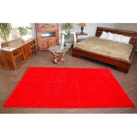 Vloerbedekking SHAGGY 5cm rood