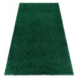 Carpet SOFFI shaggy 5cm bottle green