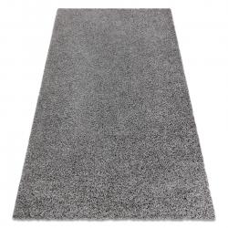 Tapis SOFFI shaggy 5cm gris
