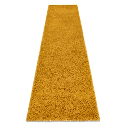Carpet, Runner SOFFI shaggy 5cm gold - for the kitchen, corridor & hallway