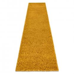 Tapete, Passadeira SOFFI shaggy 5cm ouro - para cozinha, ante-sala, corredor