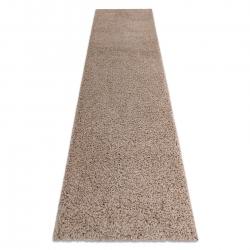 Carpet, Runner SOFFI shaggy 5cm beige - for the kitchen, corridor & hallway