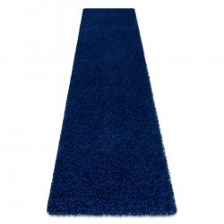 Tapete, Passadeira SOFFI shaggy 5cm azul escuro - para cozinha, ante-sala, corredor