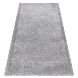 Tapis FLUFFY shaggy argent
