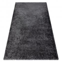 Carpet FLUFFY shaggy grey