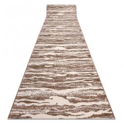 Passadeira Structural MEFE 8761 Ondas - dois níveis de lã cinza bege