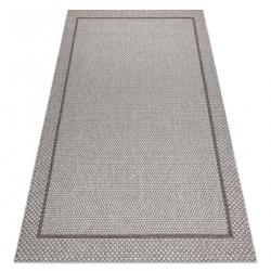 Teppich SISAL BOHO 39013037 Rahmen beige